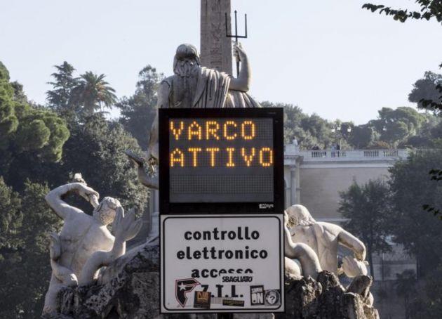 Rome's historic centre extends ZTL until 19.00