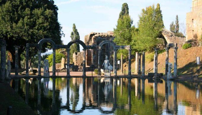 Hadrian's Villa in Tivoli