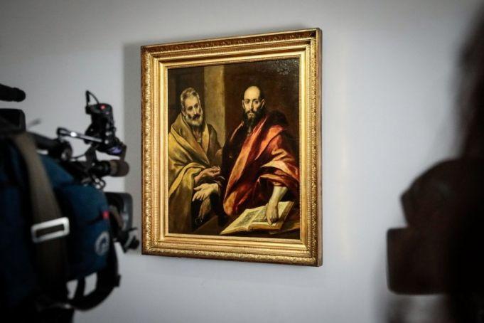 El Greco at Palazzo Rhinoceros in Rome