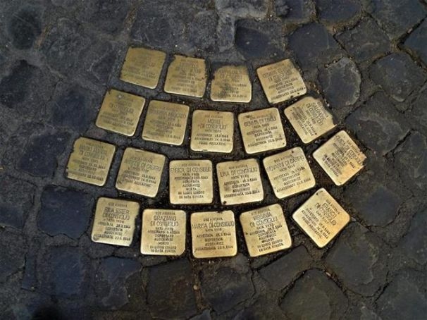 Rome honours victims of the Holocaust