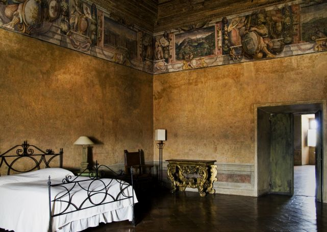 Rome: staying overnight in Villa Medici