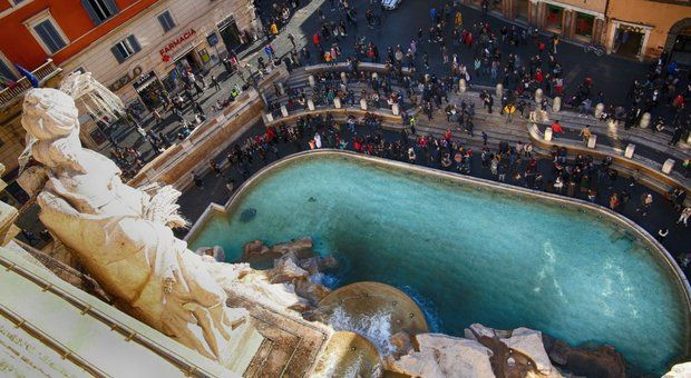Largest Fountain in Rome