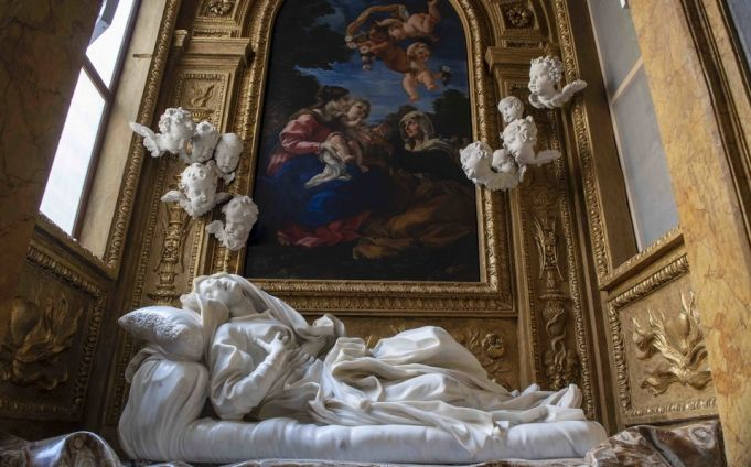 Rome restores Bernini masterpiece