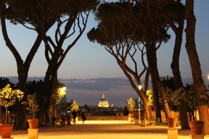 Rome's most romantic places