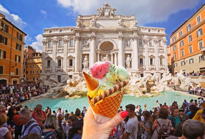 Best ice cream in Rome