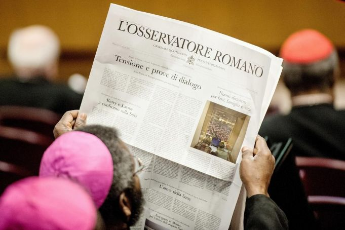 Coronavirus: Vatican newspaper suspends printing