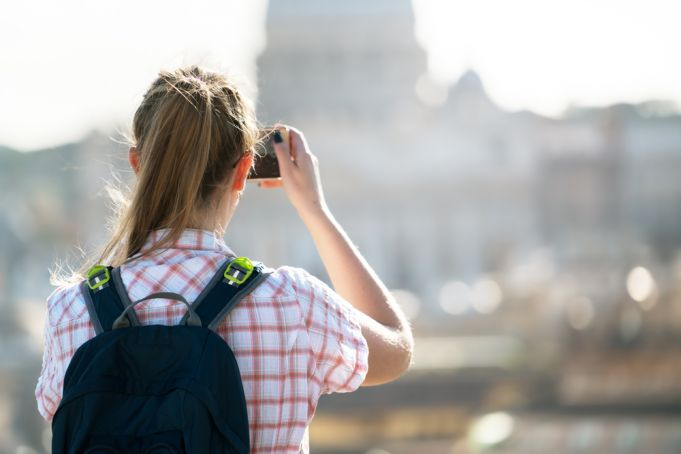 Diary of a US student who chose to remain in Rome