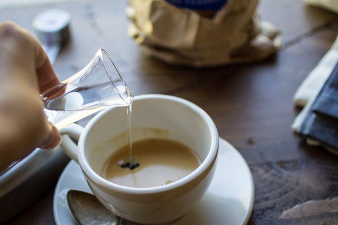 Caffe corretto, an Italian tradition