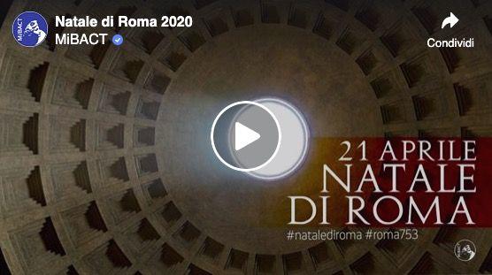 Sun lights up Pantheon door on Rome's birthday in stunning timelapse video