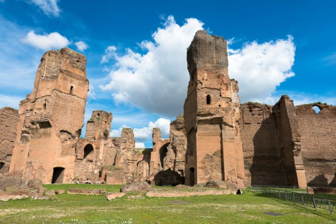 Rome celebrates birthday with virtual tour of Baths of Caracalla
