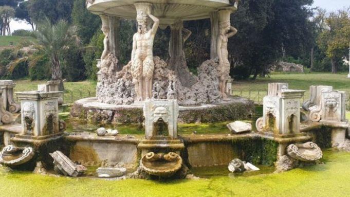 Rome's Villa Pamphilj park is being vandalised at night