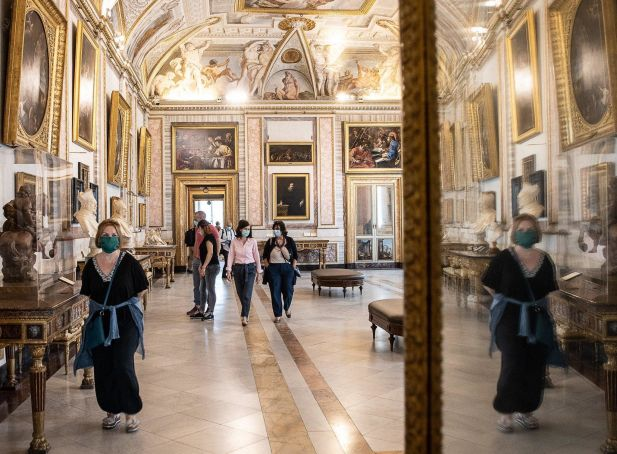 Rome: Lucky few have Galleria Borghese all to themselves