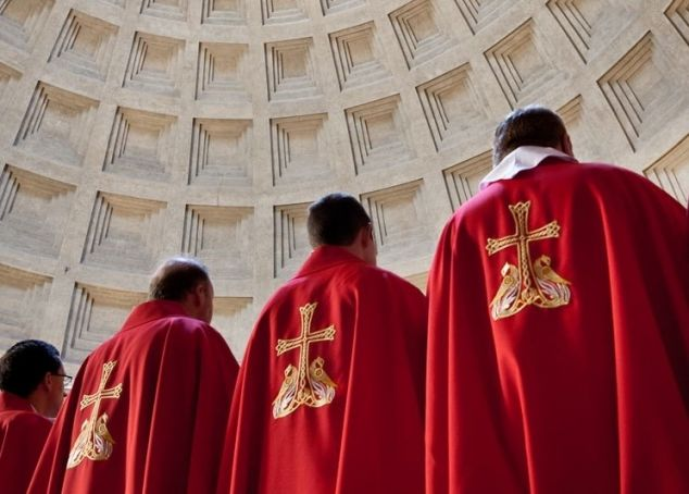Pantheon to live stream Pentecost Mass behind closed doors