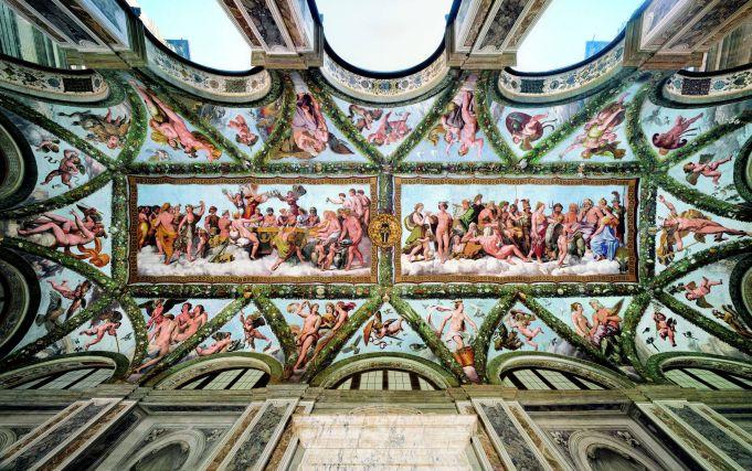 Raphael frescoes go digital in Rome