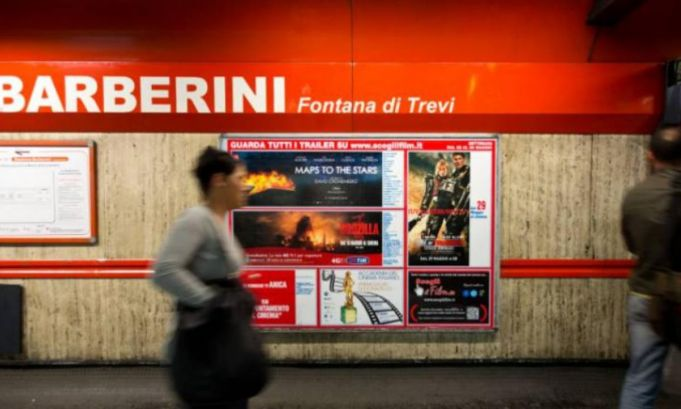 Rome metro station reopens fully after more than a year