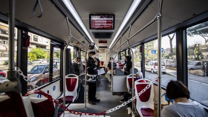 Coronavirus: Rome public transport in Phase Two