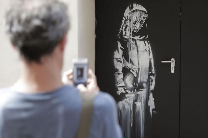 Banksy artwork stolen from Bataclan found in Italy