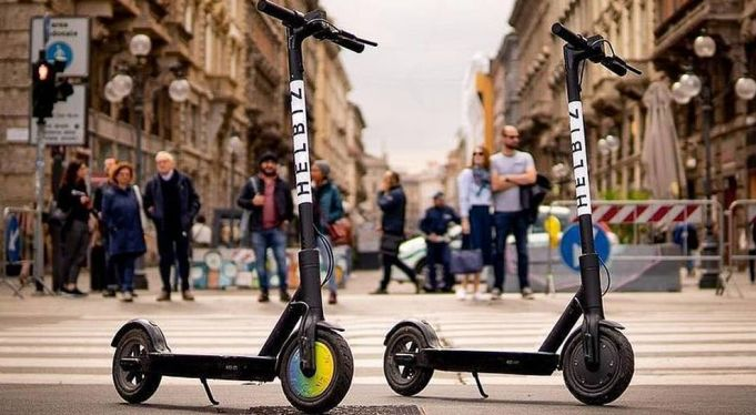 Electric scooter sharing takes off in Italy