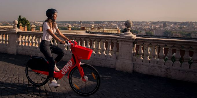 Where have Rome's Uber Jump bikes gone?