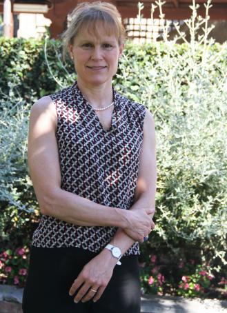 Dr. Kristen DiMatteo, new head at the American Overseas School (AOSR )