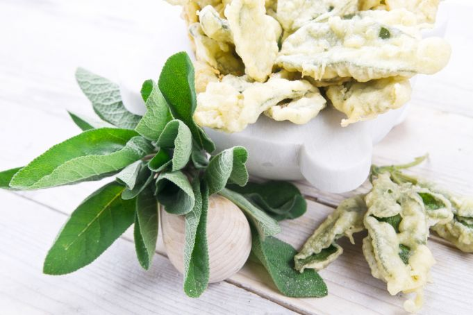 Rome recipe: Deep-Fried Sage Leaves