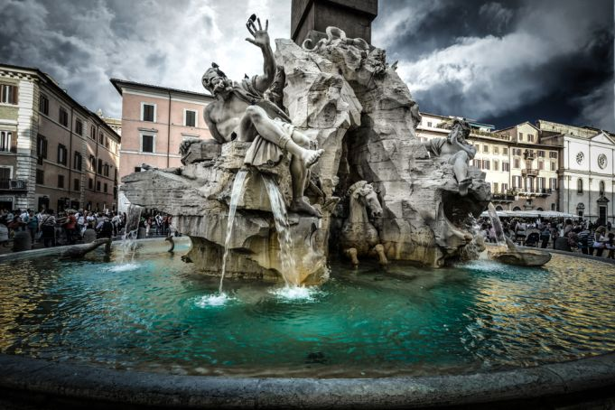 Rome issues storm warning on Friday 17 July