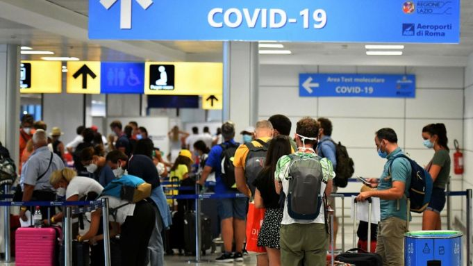 Rome: six people test positive for covid-19 on first day of tests at Fiumicino airport