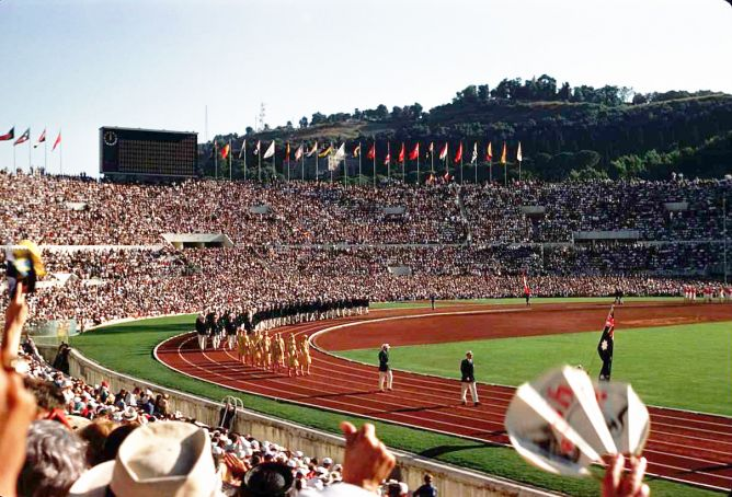 Rome's 60th anniversary of Olympics