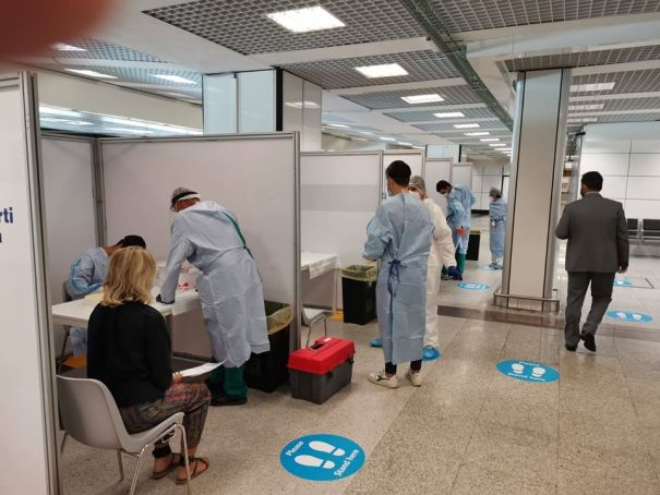 Fiumicino and Ciampino airports prepare for testing holidaymakers