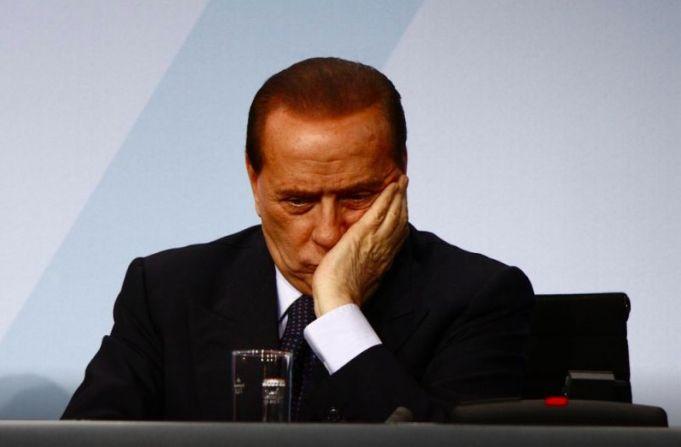 Silvio Berlusconi tested positive for covid-19.