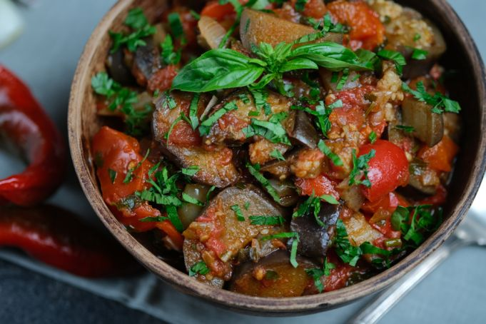 Caponata: Mediterranean medley of summer vegetables