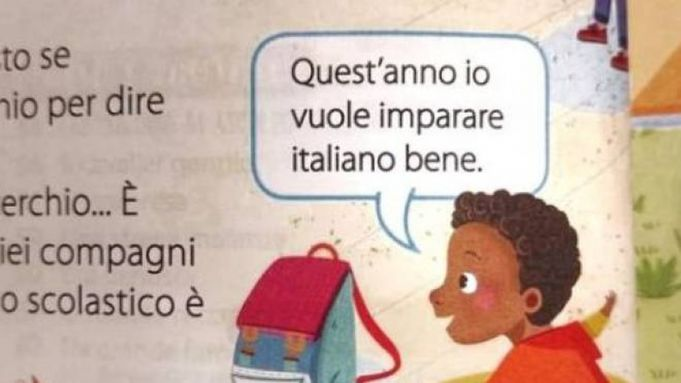 'Are you black or are you dirty?' Italy's racist school books