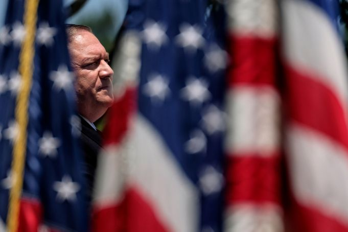 Mike Pompeo travels to Italy for talks
