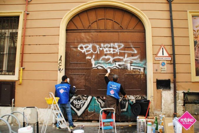 Retake Roma celebrates 10 years of cleaning up Rome