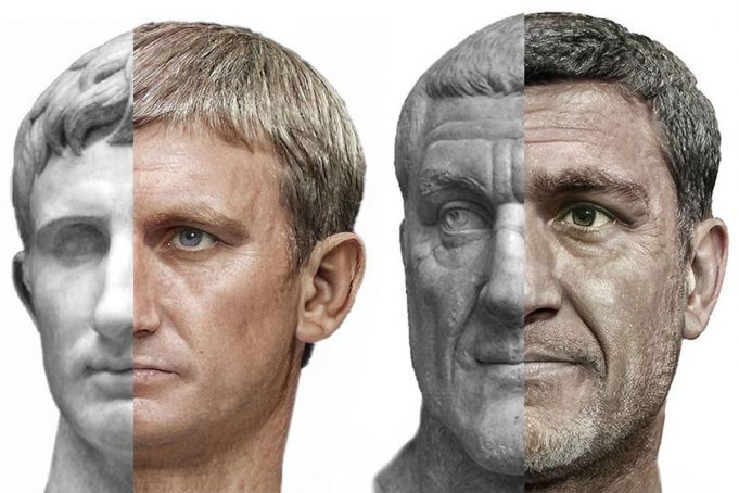 What did the Roman emperors actually look like?