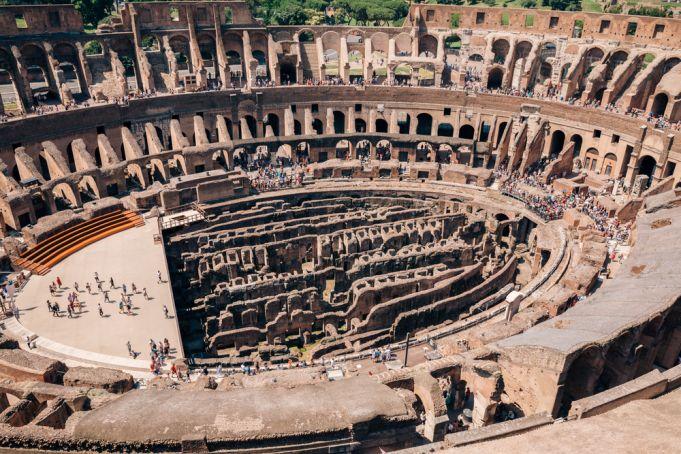Rome: Tourist crashes drone inside Colosseum
