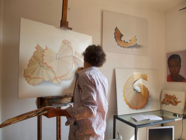Private painting classes with French Artist