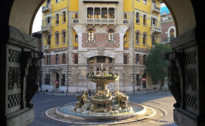 Coppedè: Rome restores the Fountain of the Frogs