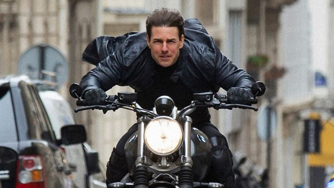 Tom Cruise returns to Rome to film Mission Impossible