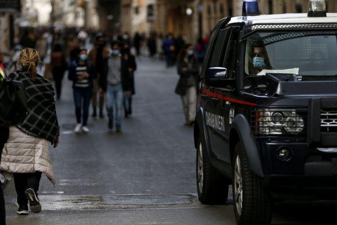 Covid-19: Italy declares 5 new orange zones