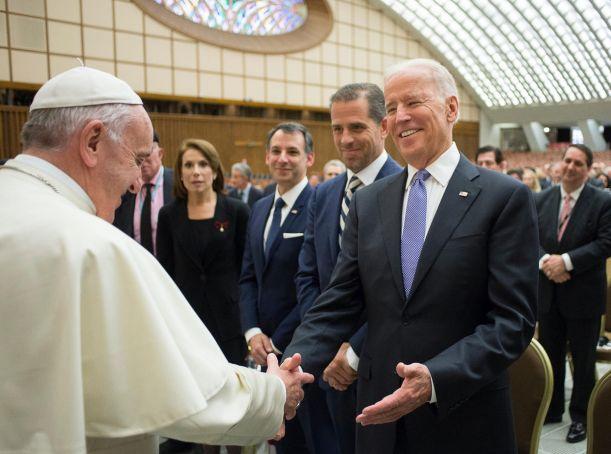Pope Francis congratulates Joe Biden on US election win