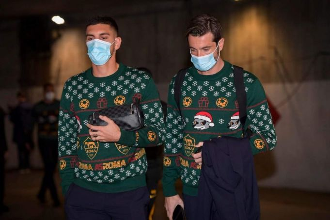 Football: AS Roma launches its own Christmas jumper