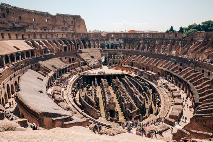 Italy to rebuild Colosseum's lost arena floor
