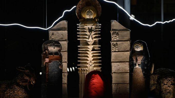 Vatican 'Darth Vader' Nativity scene lampooned