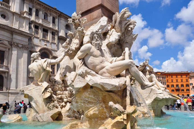 Four Rivers Fountain