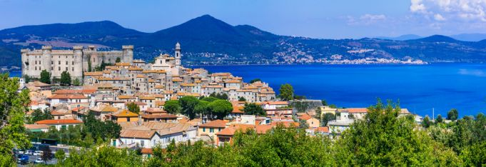 A new bike trail will allow cyclists to circle Italy's Lake Bracciano