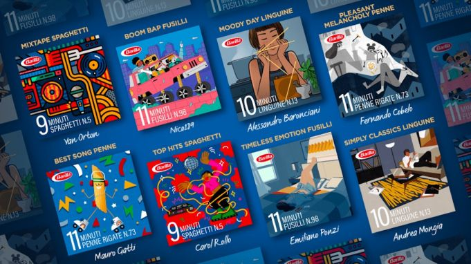 Barilla launches the 'Playlist Timer' on Spotify