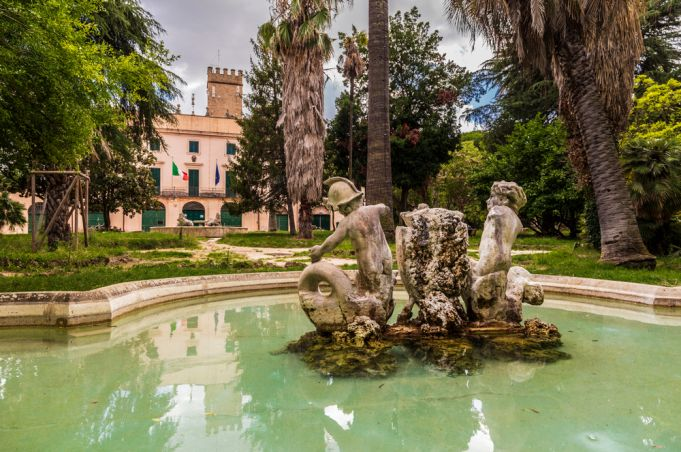 Villa Sciarra in Rome