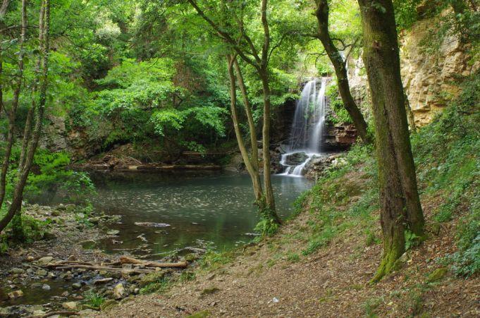 Waterfalls of Cerveteri