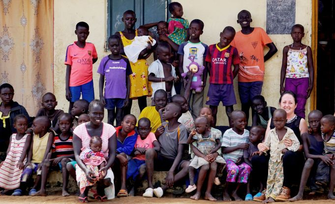 Rome running challenge in aid of South Sudan orphans